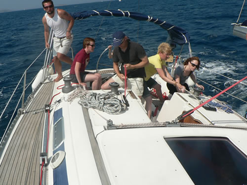 Learn to sail flotilla - Review of Activity Yachting ...